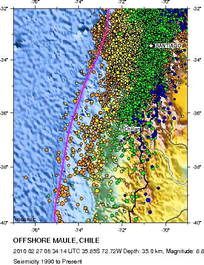 Sobre el Terremoto de Chile (3/6)