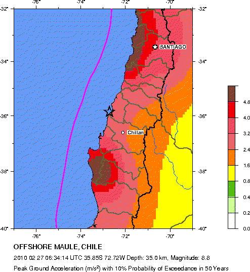 Sobre el Terremoto de Chile (2/6)
